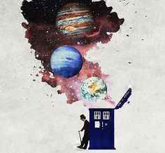 It's bigger on the inside. #doctorwho