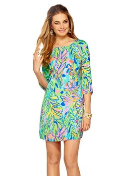 Carol Shift in Hot Spot - $198  http://www.seasonaloutfitters.net/lilly-pulitzer-carol-shift-multi-hot-spot/  #lillypulitzer #dress #fall