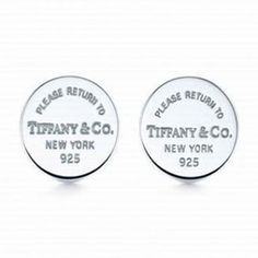 Return To Tiffany & Co Mini Round Tag Earrings - 79% off!