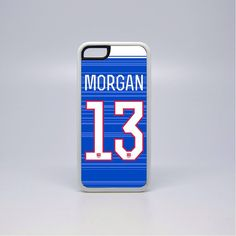 Alex Morgan Striped Jersey Custom Phone Case USWNT by 317Graphics