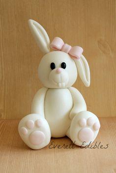 Fondant Sugar Bunny 2016