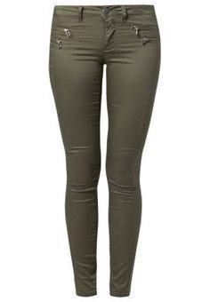 Bestill ONLY OLIVIA - Slim fit jeans - grape leaf for kr 181,00 (28.06.15) med gratis frakt på Zalando.no