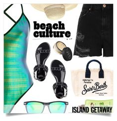 """Addicted to Paradise"" by alaria ❤ liked on Polyvore featuring River Island, Givenchy, Heidi Klein, MC2, Hawaiian Tropic, NARS Cosmetics and islandgetaway"