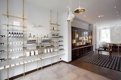 Delbôve Cosmetics Flagship Store Design by Christophe Remy, via Behance