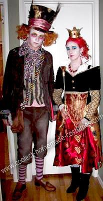 steampunk queen of hearts costume - Google Search