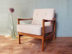 Vintage Sessel - Sessel * 60er * skandinavisches Design - ein Designerstück von mill-vintage bei DaWanda
