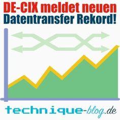 DE-CIX meldet neuen Datentransfer Rekord