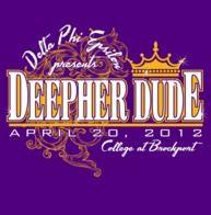 Sophisticated crown design for Delta Phi Epsilon!