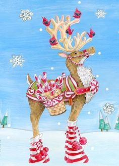 Going to have to start a whole new board for this artist, Ronnie Rooney. Characters that TOTALLY make me smile. Whimsical Christmas, Merry Little Christmas, Christmas Love, Christmas Pictures, Winter Christmas, Vintage Christmas, Christmas Cards, Christmas Decorations, Christmas Ornaments