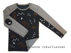 Night Bear Shirt by Unikuun terapiahuone
