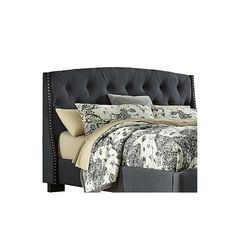Found it at Wayfair - Upholstered Panel Headboard
