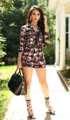 So obsessed with thses matching separates. this pattern is everythingggg. This girl  can do wrong <3
