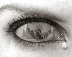 Tearful Encounter -Thomas Barbey ... I've always loved his work.