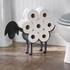 Toilet Paper Roll Holder, Paper Roll Holders, Toilet Paper Storage, Free Standing Toilet Paper Holder, Toilet Paper Art, Diy Bathroom, Bathroom Toilets, Bathroom Storage, Bathroom Ideas