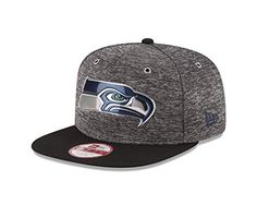 e9fedbf5c NFL Seattle Seahawks 2016 Draft 9Fifty Snapback Cap Heather GrayBlack One  Size   To view further