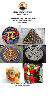 Comidas y postres matemáticos