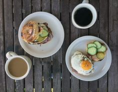 cubano breakfast bagel | everybody likes sandwiches