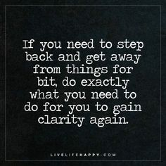 If You Need to Step Back and Get Away   Live Life Happy   Bloglovin'