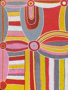 Carol Young - 122 x 91 cm http://www.aboriginalsignature.com/artaborigeneninuku/carol-young-122-x-91-cm