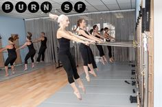 "Review of Burn SF: ""A high energy pilates-like class that will give you a full body workout in under an hour. The workout is fantastic because it incorporates quick paced cardio intervals, light weights with high reps for toning, a ton of ab work, and leg strengthening work with the pilates springboard...Did I mention it's really fun?"" #Fitness #Pilates #Toning #Cardio"
