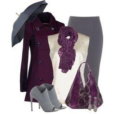 Purple/gray