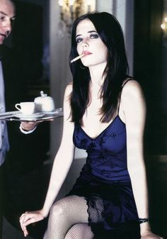Eva Green & love the dress.