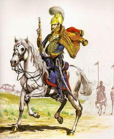 Escuadrón de Dragones del Perú. Guardia de Honor del Excelentísimo Sr. Virrey. Soldado