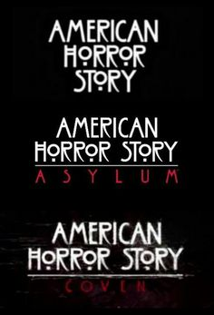 AHS- each one is wonderful in their own way but I really loved the first one. Probably because of the whole, Violet and Tate thing hahaha