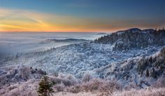 Freezing morning in Banska Stiavnica