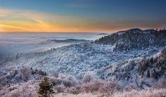 Freezing morning in Banska Stiavnica
