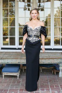 Globos de Oro 2021: los detalles del vestido de Kate Hudson en exclusiva
