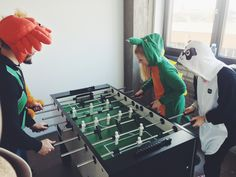 carnival in duesseldorf | office party | foosball table | appcom