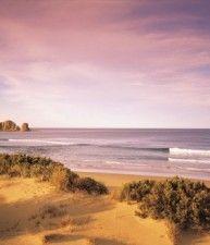 Bellissima spiaggia e mare al tramonto, Phillip Island, Victoria | Australia