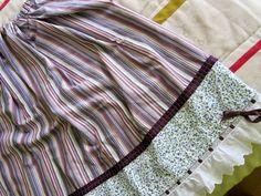 trajes de casera Vestidos, Tela, Shepherd Costume, Petticoats, Aprons, Costumes, Homemade, Skirts