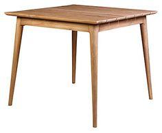 Mesa en teca - natural