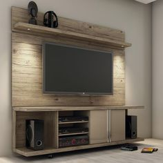 """Features: -Several compartments to store devices. -Chrome ABS handle 1.5"""" base and surface. -Rolling wheels to easily manuever the stand. TV Size Accommodated: -60"""". Product Type: -TV Stand. Fra"""