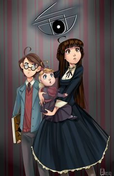 A series of unfortunate events by wakkass on DeviantArt Unfortunate Events Books, A Series Of Unfortunate Events Netflix, Netflix Series, Series Movies, Book Series, Movies Showing, Movies And Tv Shows, Les Orphelins Baudelaire, Fanart