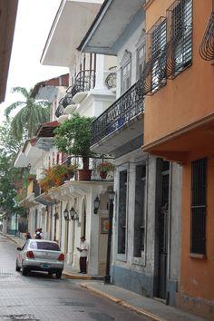 Panama city / el Casco Viejo.