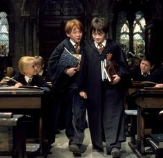 Ron and Harry...they had their ups and downs like any friendship