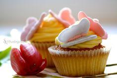Köstliche Schmetterlings-Cupcakes