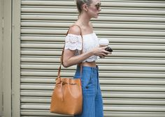 Updated! See the Must-Have Bags and Shoes From NYFW Day 7: As our favorite street style stars make their way to the shows at New York Fashion Week, we admire their perfectly coordinated looks.