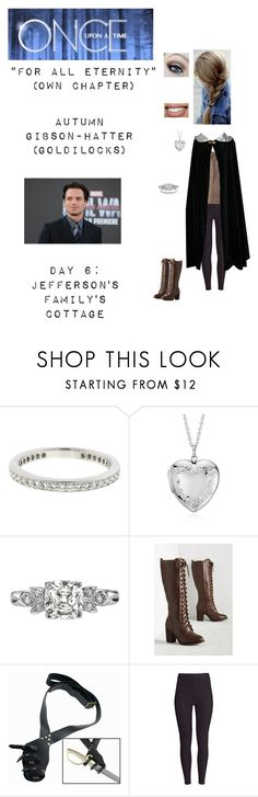 """""""OUAT - S6 Own Chapter: """"For All Eternity"""" - Autumn Gibson-Hatter (Goldilocks)"""" by nerdbucket ❤ liked on Polyvore featuring Tiffany & Co., Blue Nile, H&M, Bebe, Sephora Collection and Sebastian Professional"""