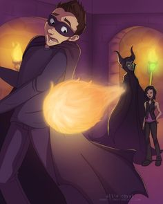 Don't Mess With Maleficent by *Nemo-7 on deviantART - This person is awesome... they are like the only fanart of KK.