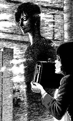 Itou Junji Kyoufu Manga Collection The Intersection's Pretty Boy Page 1 Junji Ito, Japanese Horror, Japanese Art, Arte Horror, Horror Art, Dark Art Illustrations, Manga Collection, Bd Comics, Manga Artist