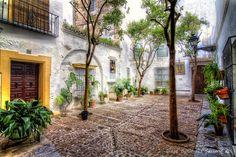 Courtyard in Seville, Spain
