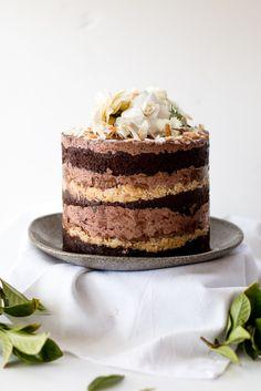 Momofuku German Chocolate Espresso Cake & a blog birthday | The Brick Kitchen