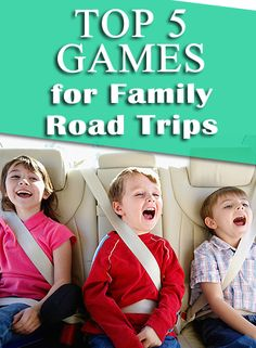 Whether you're going cross-country or just across town, keep your kids entertained in the car with this list of road games from @FamilyFun magazine.    http://www.parents.com/fun/vacation/planning/top-five-road-games-for-kids/?socsrc=pmmpin130212fvRoadGames