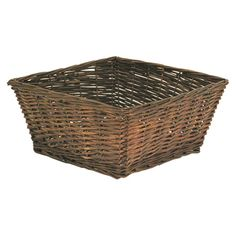 Found it at Wayfair - Willow Basket in Natural--for under coffee table (need 2)