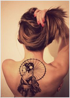 Geisha Tattoo Designs (14)