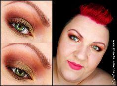 makijaż makeup makeup revolution naked chocolate makeupblogger blog step by step khaki ciepłe brązy worm brown military makeup tytuł